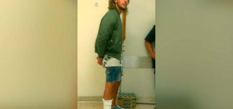 Rodrigo Eguillor quedó detenido en la Alcaidía III de La Plata
