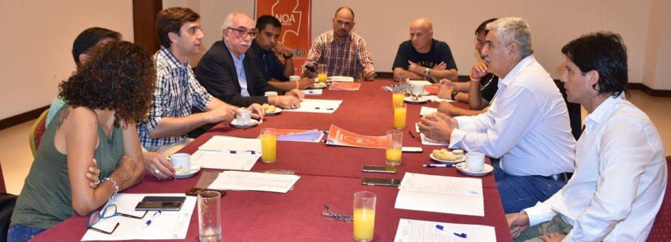 Secretarios de Deportes del NOA reunidos en Termas
