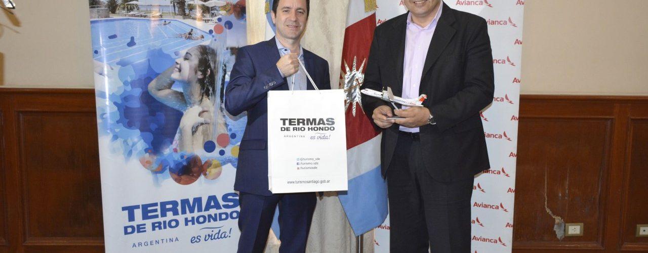 Avianca comenzara a operar con dos  vuelos semanales a Termas de Rio Hondo