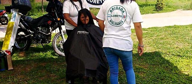 Loreto: Brigada Solidaria realizó importante actividad en la plaza Centenario