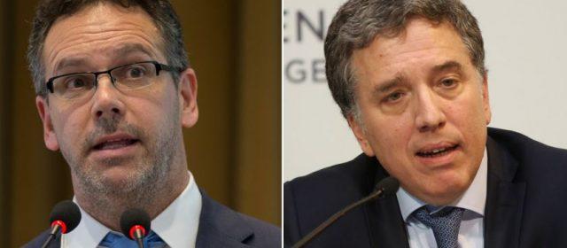 Dujovne y Sandleris viajan a Davos para reunirse con el FMI y buscar inversiones