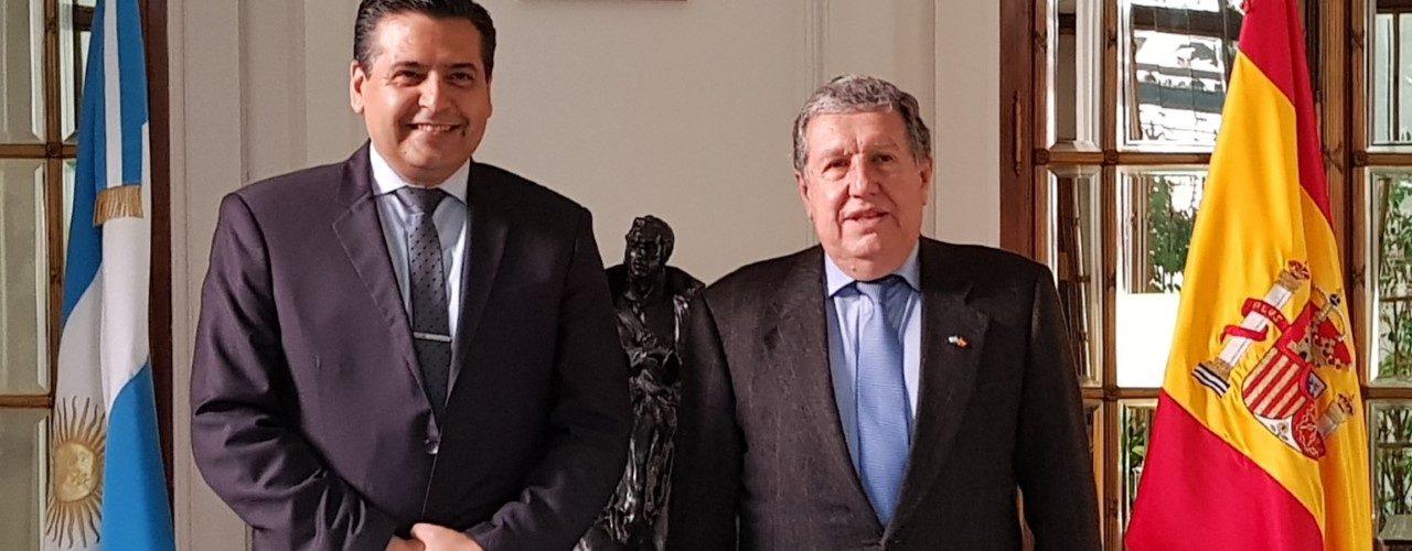 Embajador argentino en España  colaborará con Termas de Río Hondo