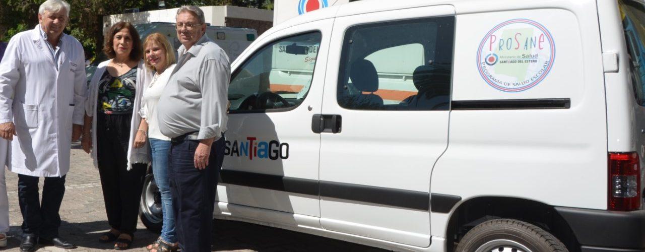 Entrega de vehículo fortalecerá  el programa de salud escolar