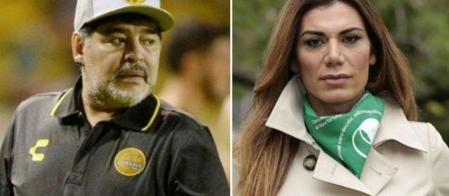 La frase homofóbica de Diego Maradona a Florencia de la V