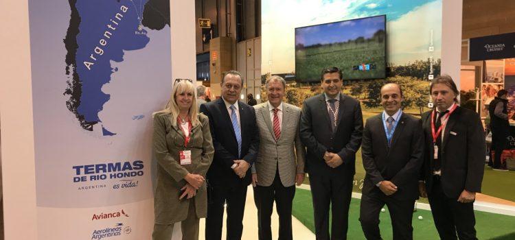 Santiago inicia participación en FITUR España