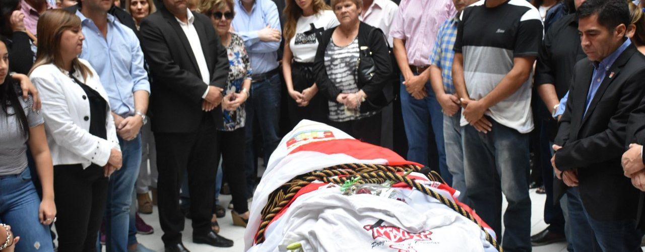 Sentido homenaje al ex intendente Hugo Infante