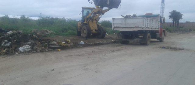 Nuevo operativo de limpieza se concretó en la zona oeste de la ciudad