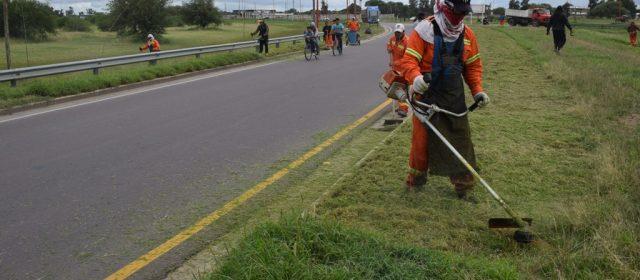 Nuevo operativo integral de limpieza municipal se realizó en barrios de la zona oeste