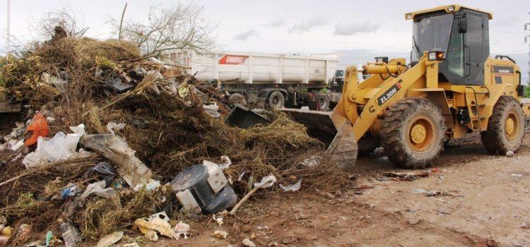 El Municipio concretó la limpieza y despeje de minibasurales en la zona sur de la ciudad