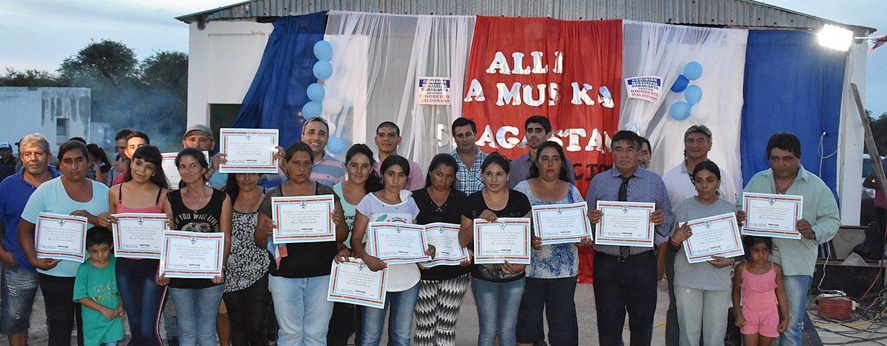 Familias de Sabagasta acceden a viviendas sociales