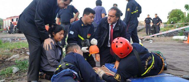 Scioli ofreció su ayuda para liberar a Julen, el nene que cayó a un pozo en Málaga