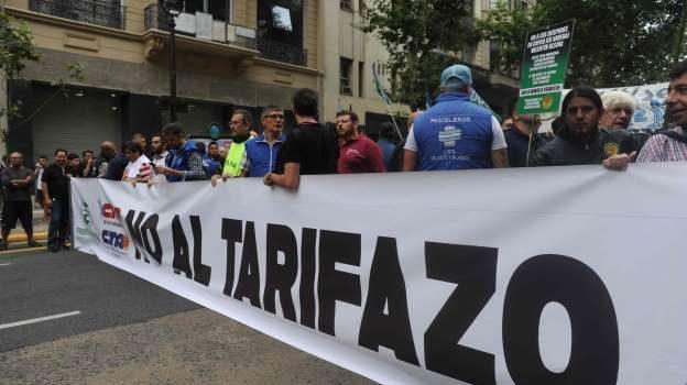 La Marcha de Antorchas, contra el Tarifazo