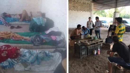 Rescatan trabajadores santiagueños en Mendoza