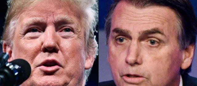 "Trump felicitó Bolsonaro: ""Estados Unidos está contigo"""