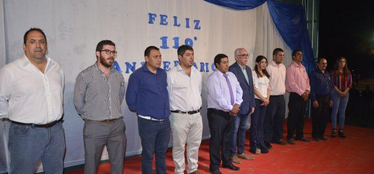 Estación Atamisqui celebró su 119°  aniversario inaugurando obras