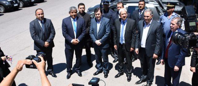 El Gobernador entregó 50 nuevas  camionetas a la Policía de la Provincia