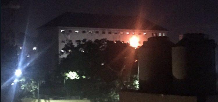 Motín e incendio en la cárcel de Devoto