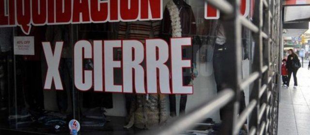 En enero cerraron 82 comercios por día en la Ciudad de Buenos Aires y el Conurbano