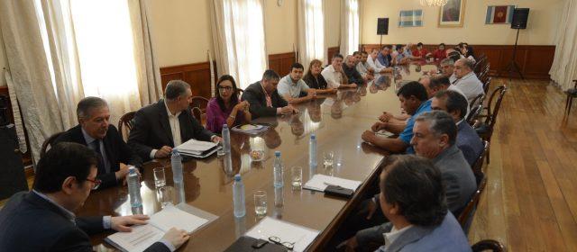 Zamora se reunió con comisionados municipales