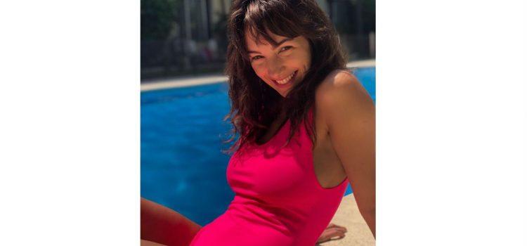 Thelma Fardin disfrutó del sol y reflexionó sobre su vida