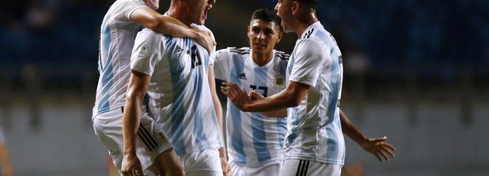 Sudamericano Sub-20: de la mano de Gaich, Argentina goleó a Venezuela