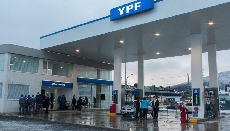 YPF aumenta este martes los combustibles