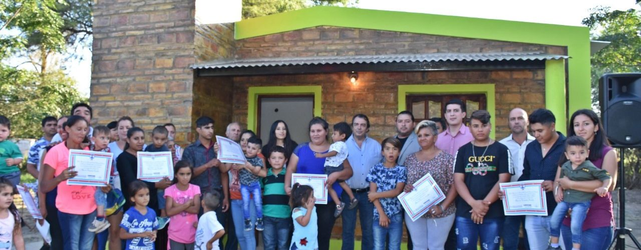 Viviendas sociales en Palo Negro, Dpto. Rivadavia