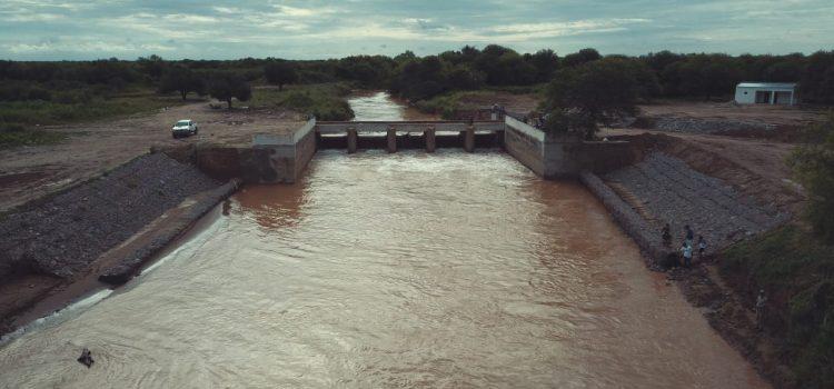 Reacondicionamiento del Azud Rincón de  Esperanza y obras de derivación del Rio Salado