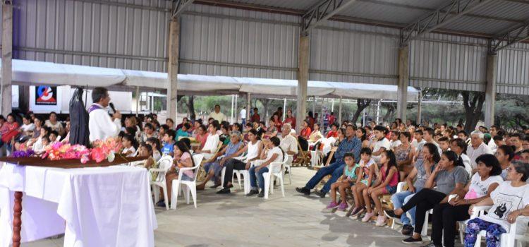 Encuentro de comunidades en  el día de la Beata Mama Antula