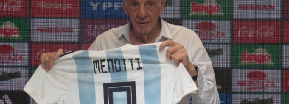 """Menotti: """"No es el momento de Agüero ni de Messi en la Selección"""""""