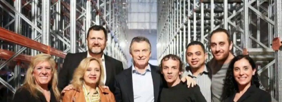 Macri visitó una fábrica en octubre, a los dos meses les dejaron de pagar a sus empleados