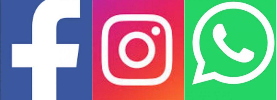 Otra vez Facebook, Instagram y WhatsApp presentan problemas en distintas partes del mundo