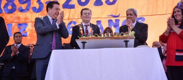 Gobernador participó del acto por  el 126° aniversario de Clodomira