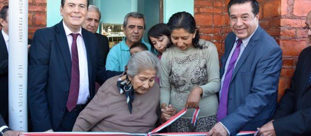 Inauguran 15 viviendas sociales en Clodomira