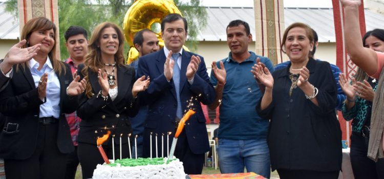 Gobernador participó del acto por  el octavo aniversario de C.Re.A.S.E