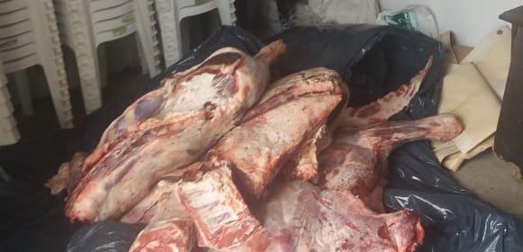 Operativos en carnicerías ubicadas  en el Sur de la ciudad Capital