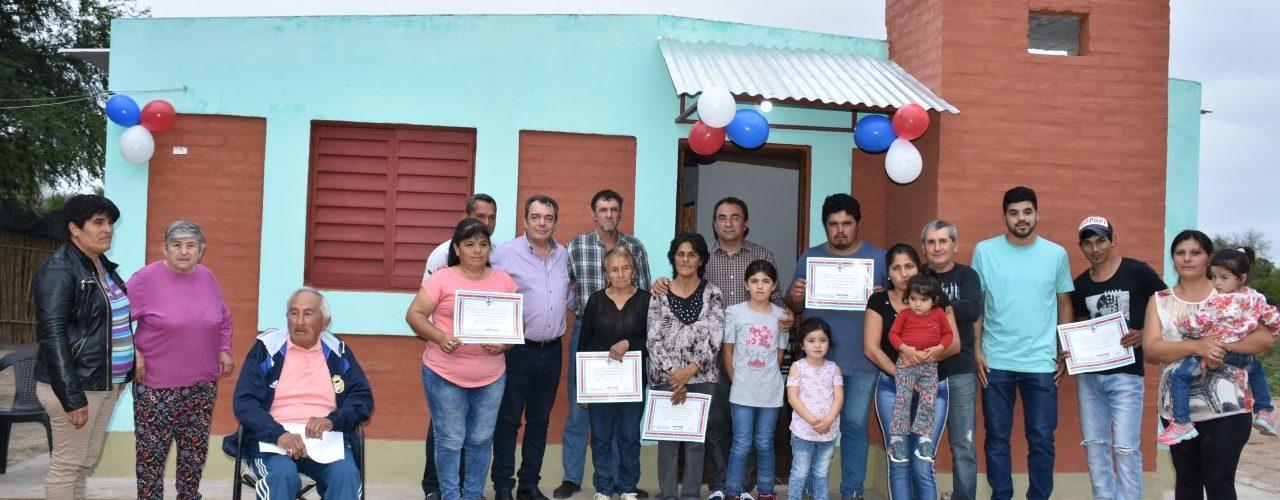 Viviendas sociales en San Javier, Dpto Banda