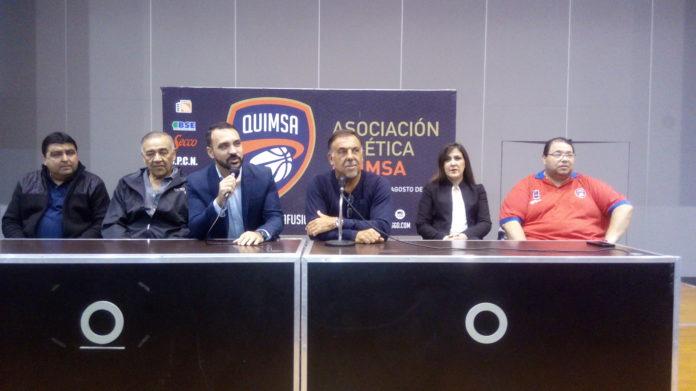 """Quimsa presentó el campus con el """"huevo"""" Sanchez"""
