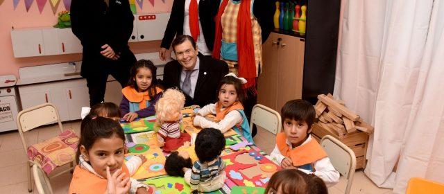 Gobernador inauguró obras de refacción y  ampliación en Escuela 749 y jardín de Infantes