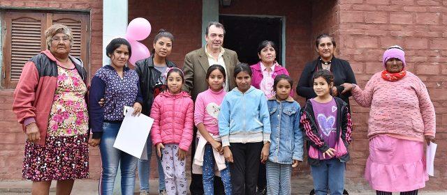 Vivienda sociales para familias de los  departamentos Robles y San Martín