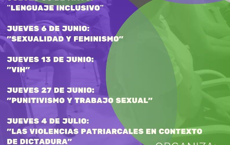 La Asociación Civil Agenda de Géneros invita al ciclo «jueves de formación»