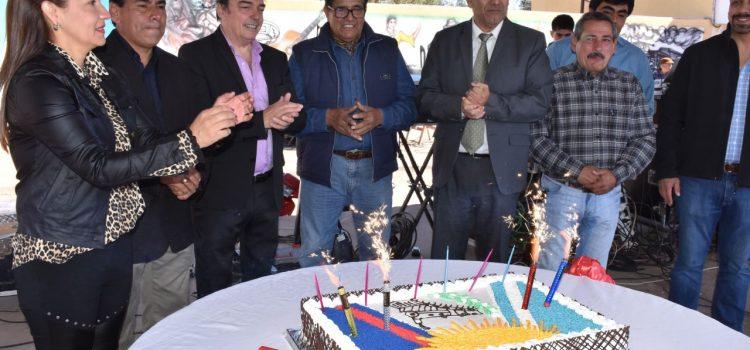Árraga celebró el 105°aniversario  con la inauguración de viviendas sociales