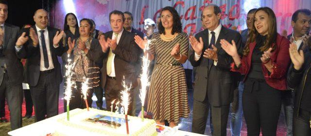 La localidad de La Cañada celebró su aniversario  inaugurando viviendas sociales y otras obras