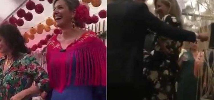 Escándalo en Holanda con un baile de la Reina Máxima