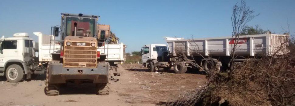 En operativos especiales, se retiraron 400 toneladas de basura de cinco barrios
