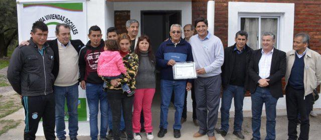 Inauguran viviendas sociales en Sumampa