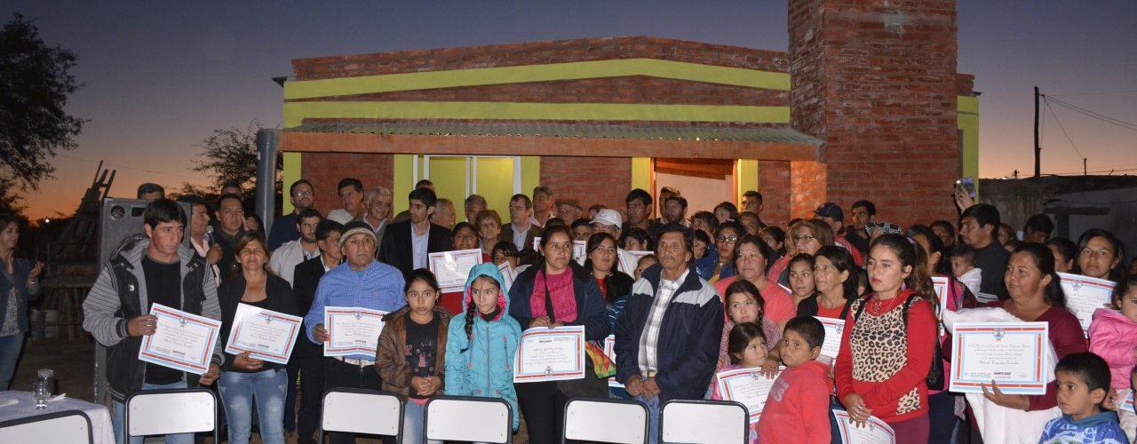 Familias de Villa Mailín accede a viviendas sociales