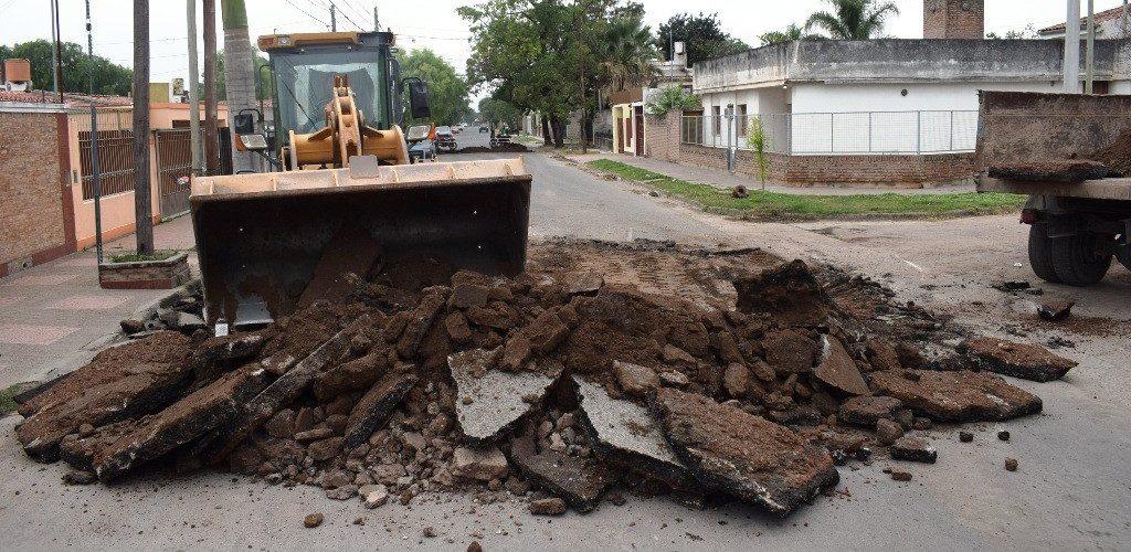 La Municipalidad optimizará el pavimento de la calle Japón y hay cambios de recorridos de colectivos