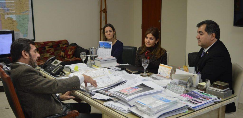 El Fiscal General de la provincia recibió al Cónsul del Paraguay