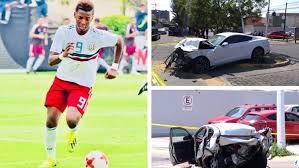 Famoso futbolista mató a dos personas con su auto